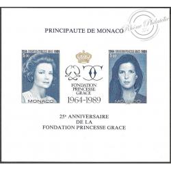 BLOC DE MONACO N°48a PRINCESSE GRACE, LUXE!!