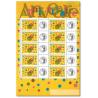 FEUILLE TIMBRES ANNIVERSAIRES (3480A) AVEC VIGNETTE CERES