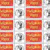 """FEUILLE TIMBRES """"MEILLEURS VOEUX"""" (3623A) AVEC VIGNETTE CERES"""