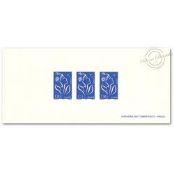 EPREUVE MARIANNE LAMOUCHE BLEUE (imprimerie des timbres poste - France)