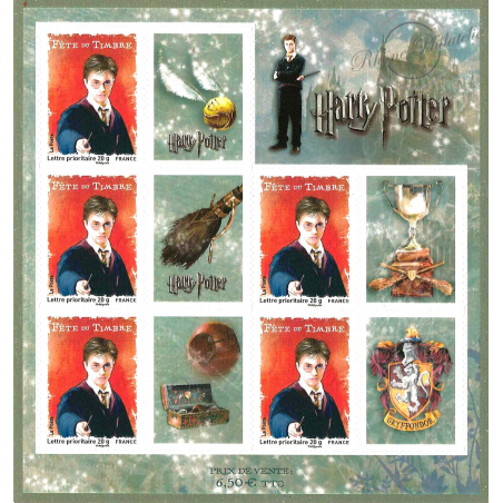 FEUILLE HARRY POTTER N°4024A ** 2007