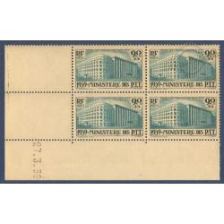 N°__424 ORPHELINS DES P.T.T COIN DATE DE 1939 TIMBRES NEUFS **
