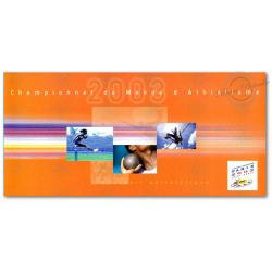 SOUVENIR PHILATELIQUE CHAMPIONNAT DU MONDE D'ATHLETISME PARIS 2003 SAINT DENIS