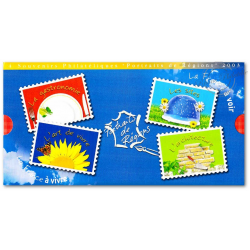 SOUVENIRS PHILATELIQUES PORTRAITS DE REGIONS 2003