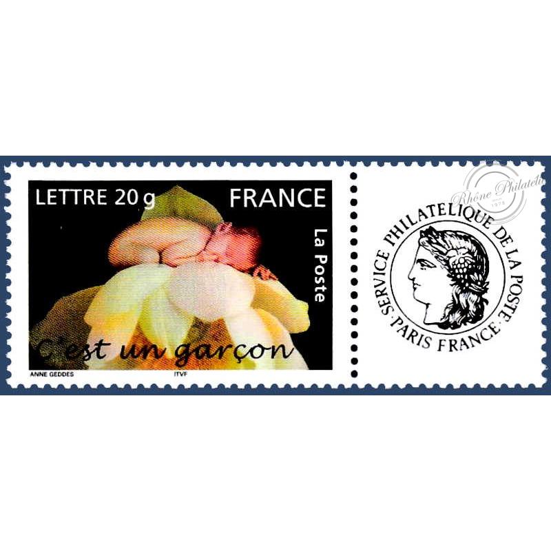 France Timbre Poste Personnalise Pour Naissance N Deg 3805 C Est