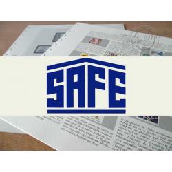 FEUILLES SAFE DUAL 1979 avec almanach encyclopédique pour timbres français