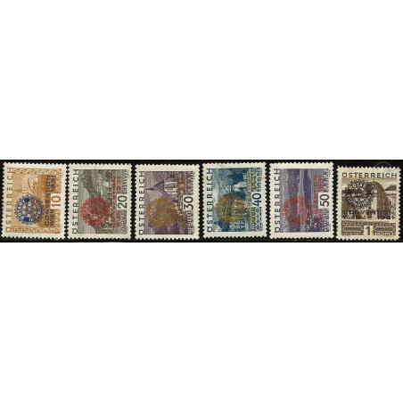 ROTARY INTERNATIONAL N°398A-398F