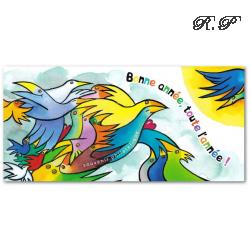BLOC SOUVENIR N°__100 BONNE ANNEE TOUTE L'ANNEE ! 2014