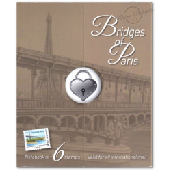 COLLECTOR BRIDGE OF PARIS (2015) TIMBRES LETTRES MONDE 20G AUTOADHESIFS