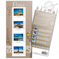COLLECTOR PARIS RIVE GAUCHE (2013) TIMBRES LETTRES 20G AUTOADHESIFS