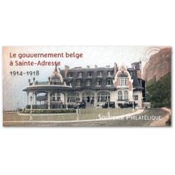BLOC SOUVENIR N°__110 LE GOUVERNEMANT BELGES A SIANTE-ADRESSE 1914-1918 (2015)