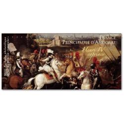 EMISSION COMMUNE (2012) ANDORRE : Henri IV coprince