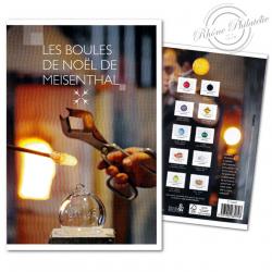 COLLECTOR LES BOULES DE NOËL MEÏSENTHAL (2014) TIMBRES LETTRES VERTES 20G AUTOADHESIFS