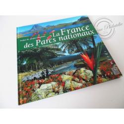 """LE LIVRE DES TIMBRES """"LA FRANCE DES PARCS NATIONAUX"""""""