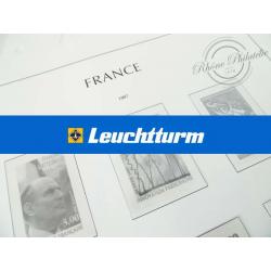 FEUILLES LEUCHTTURM 1997 pour timbres de France