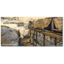 BLOC SOUVENIR BATAILLE DE LA SOMME 1916-2016