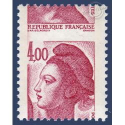 N°2244 MARIANNE TYPE LIBERTÉ DE DELACROIX PIQUAGE A CHEVAL NEUF**