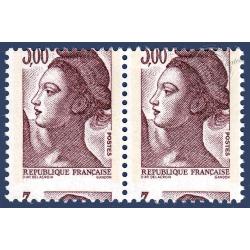 N°2243 MARIANNE TYPE LIBERTÉ DE DELACROIX PIQUAGE A CHEVAL NEUF**