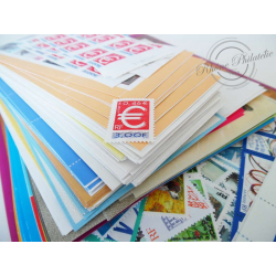 LOT TIMBRES-POSTE 0.46€, FACIALE 550€, 25% DE REMISE