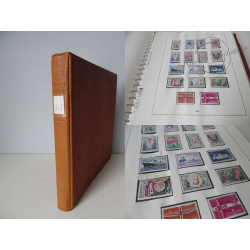 ALBUM LINDNER 1962-1971, timbres de France