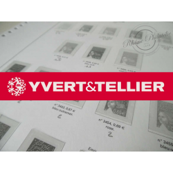 FEUILLES YVERT T. 2002 pour Collection de timbres (France)