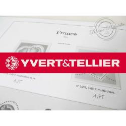 FEUILLES YVERT T. 2000 pour Collection de timbres (France)