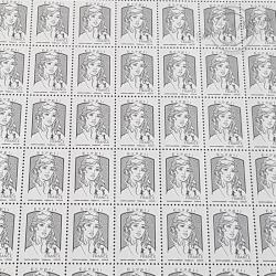 FEUILLE COMPLETE No4766 MARIANNE DE CIAPPA (2013) ECOPLI GRIS 20G