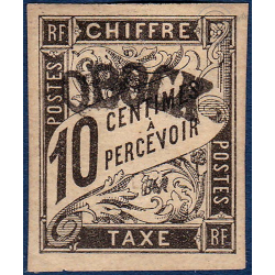 OBOCK TAXE N°2 TIMBRE TYPE DUVAL AVEC CHARNIERE