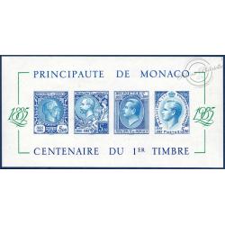 MONACO BLOC No33a TIMBRES NEUFS