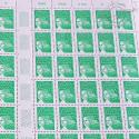 FEUILLE TIMBRES POSTE N°3535A MARIANNE 14 JUILLET (2001) ECOPLI 20G