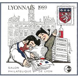 """BLOC CNEP N°_10 """"LYONNAIS 1989"""""""