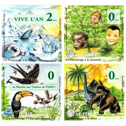BLOCS SOUVENIR DE MARIGNY JUIN 2000 PASSAGE AN 2000