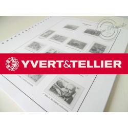 FEUILLES YVERT T. 2001 pour Collection de timbres (France)