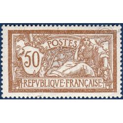 N°__120 TYPE MERSON BRUN ET GRIS, TIMBRE NEUF SANS CHARNIERE 1900