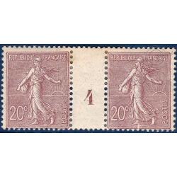 N°__131 MILLESIME TYPE SEMEUSE, TIMBRE NEUF*, 1903