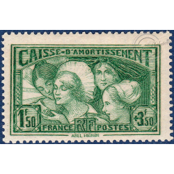 N°__269 CAISSE D'AMORTISSEMENT TIMBRE NEUF**, 1931