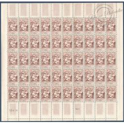 SÉRIE FEUILLES COMPLÈTES N°1366 A 1367, TIMBRES NEUFS** 1962