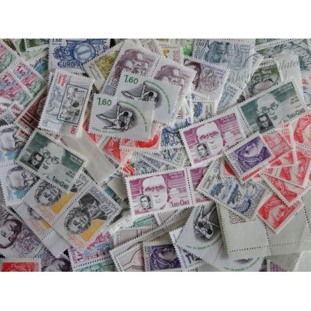 LOT DE 1000 TIMBRES-POSTE A 1,6FFr VALEUR FACIALE 243€