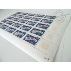 TAAF FEUILLE COMPLÈTE N°32, TIMBRES NEUFS** 1969