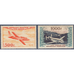 PA N°_32-33 PROTOTYPES, TIMBRES NEUFS** 1954