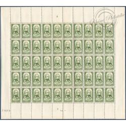 SÉRIE FEUILLES COMPLÈTES N°795 A 802, TIMBRES POSTE NEUFS** 1948