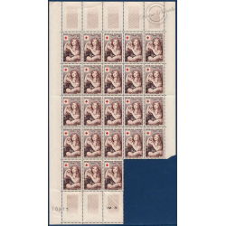 SÉRIE FEUILLES N°1006-1007, TIMBRES NEUFS** 1954