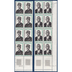 TAAF SÉRIE FEUILLETS N°46-47, TIMBRES NEUFS** 1972