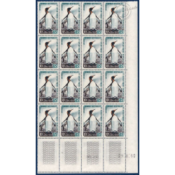 TAAF FEUILLET N°17, TIMBRES NEUFS** 1959-63