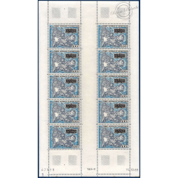 TAAF FEUILLE COMPLÈTE POSTE AÉRIENNE N°20, TIMBRES NEUFS** 1970