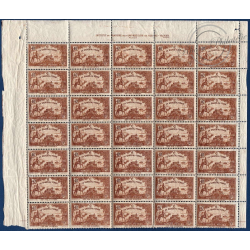 TUNISIE SÉRIE FEUILLETS N°147 A 153, TIMBRES NEUFS** 1928