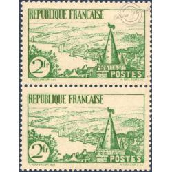 N°__301 RIVIERE BRETONNE PAIRE DE TIMBRES NEUFS** 1935