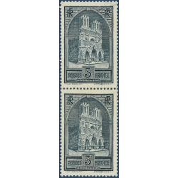 N°__259 CATHEDRALE DE REIMS, TIMBRES NEUFS ** 1929-31