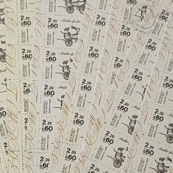 """LOT DE 33 CARNETS """"JOURNEE DU TIMBRE """" 1986 (BC2411A), FACIALE 66€"""