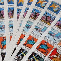"""LOT DE 76 CARNETS """"LA COMMUNICATION """" 1988 (BC2515), FACIALE 305€"""